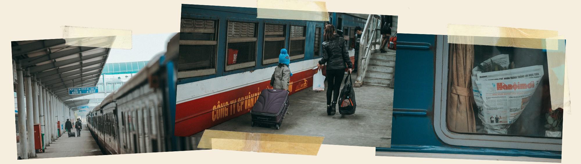 Vì trên mỗi chuyến tàu, những chiếc ghế xoay vào nhau - Ảnh 5.