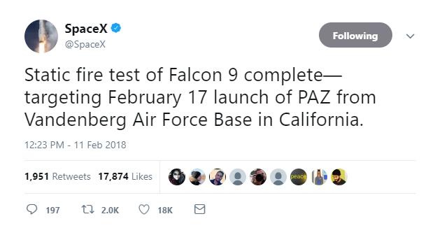 Cuối tuần này, SpaceX sẽ phóng vệ tinh phát Internet, bước đầu thử nghiệm cho dự án phát Internet toàn cầu - Ảnh 2.