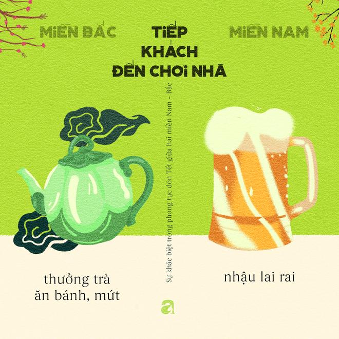 Những khác biệt thú vị ngày Tết giữa Hà Nội và Sài Gòn - Ảnh 8.