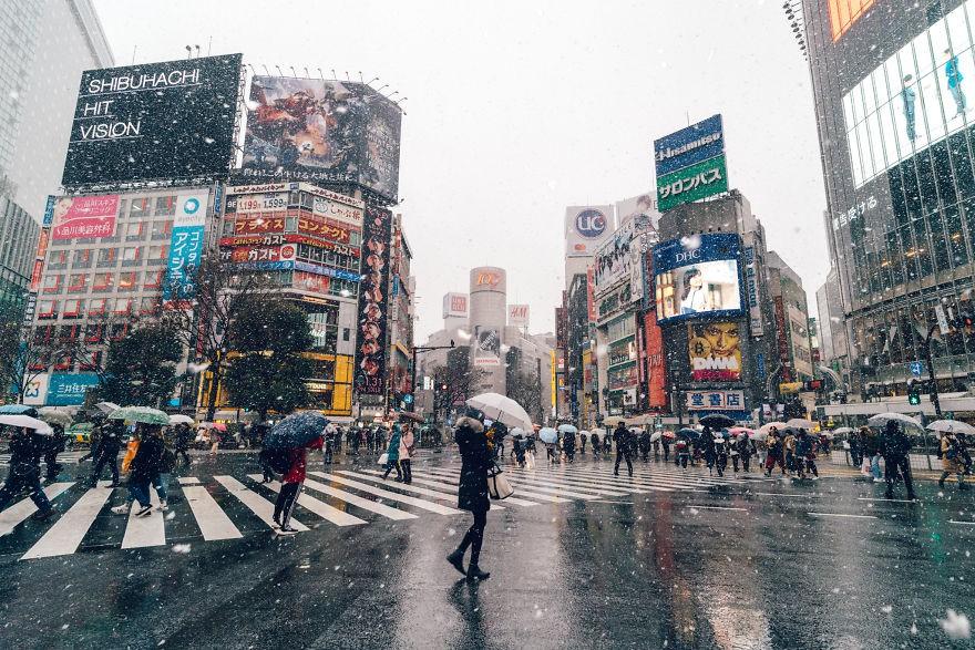 Ngắm bộ ảnh Tokyo tuyệt đẹp trong tuyết trắng dưới góc nhìn của nhiếp ảnh gia Nhật Bản - Ảnh 21.