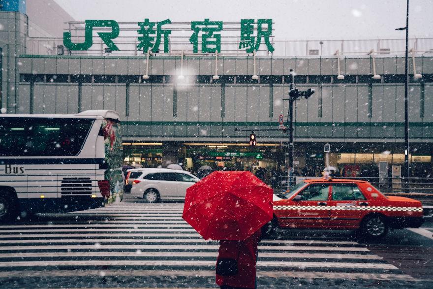 Ngắm bộ ảnh Tokyo tuyệt đẹp trong tuyết trắng dưới góc nhìn của nhiếp ảnh gia Nhật Bản - Ảnh 17.
