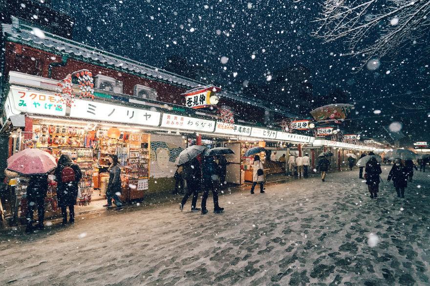 Ngắm bộ ảnh Tokyo tuyệt đẹp trong tuyết trắng dưới góc nhìn của nhiếp ảnh gia Nhật Bản - Ảnh 23.