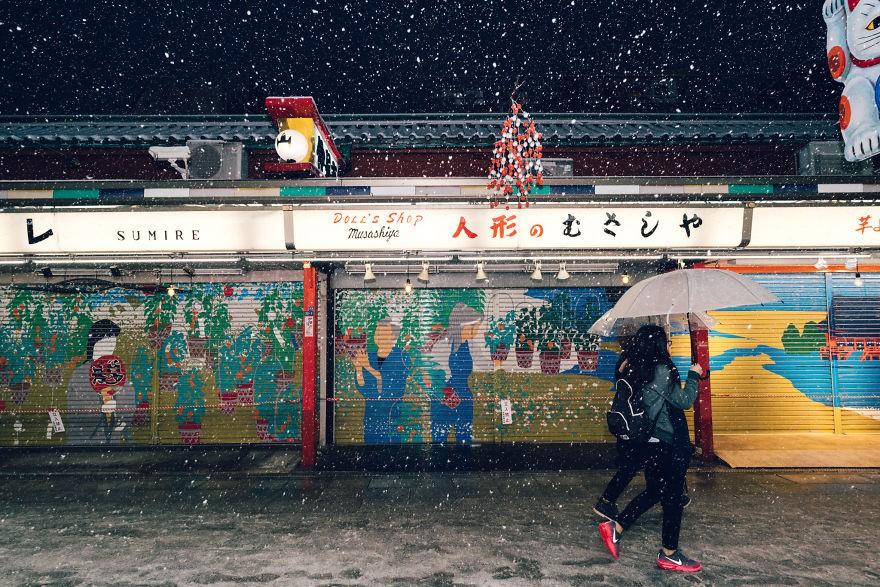 Ngắm bộ ảnh Tokyo tuyệt đẹp trong tuyết trắng dưới góc nhìn của nhiếp ảnh gia Nhật Bản - Ảnh 27.