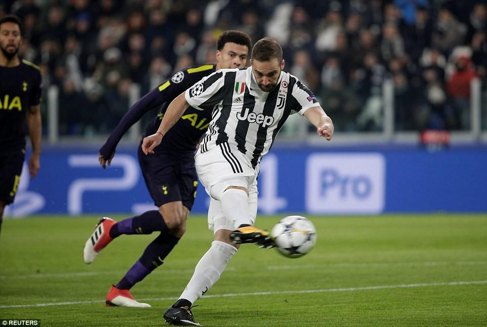 9 trận ghi 9 bàn, Harry Kane giúp Tottenham giành lợi thế trước Juventus - Ảnh 2.