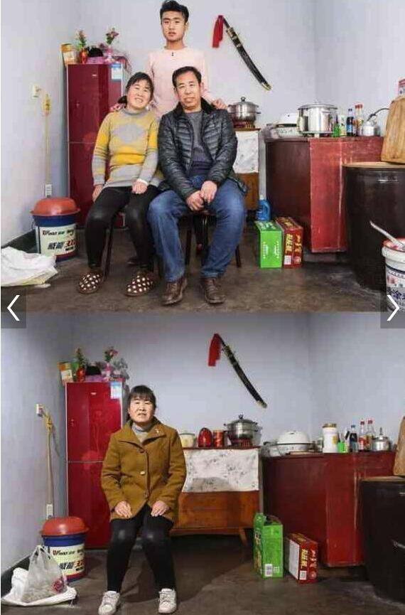 Xúc động với hình ảnh căn nhà trong và sau dịp nghỉ tết Nguyên Đán tại các vùng quê nghèo Trung Quốc - Ảnh 1.