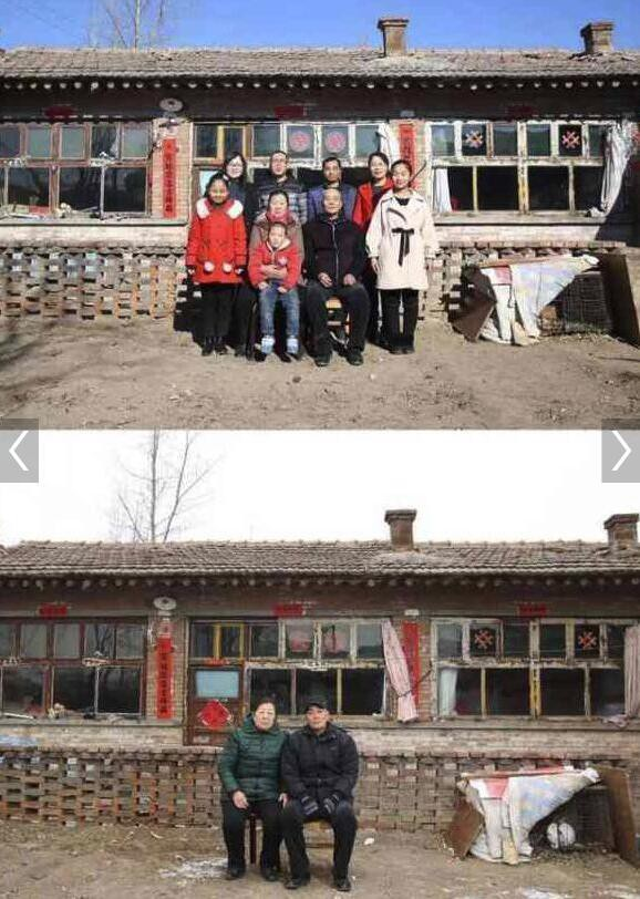 Xúc động với hình ảnh căn nhà trong và sau dịp nghỉ tết Nguyên Đán tại các vùng quê nghèo Trung Quốc - Ảnh 2.