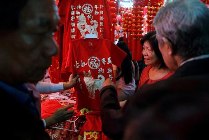 Châu Á ngập tràn sắc đỏ cùng linh vật chú chó chào Tết Nguyên Đán - Ảnh 13.