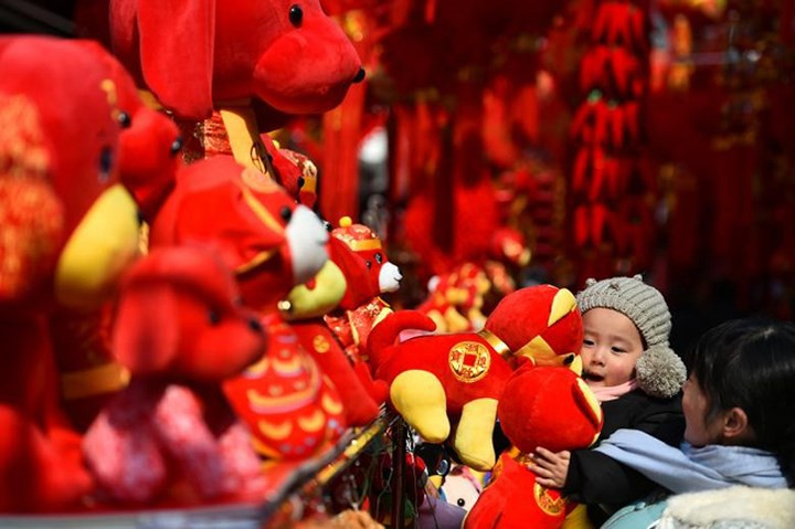 Châu Á ngập tràn sắc đỏ cùng linh vật chú chó chào Tết Nguyên Đán - Ảnh 15.