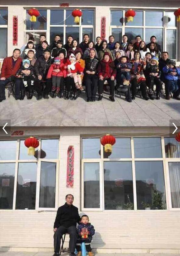 Xúc động với hình ảnh căn nhà trong và sau dịp nghỉ tết Nguyên Đán tại các vùng quê nghèo Trung Quốc - Ảnh 3.
