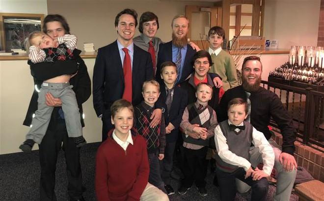 Cặp vợ chồng có 13 đứa con trai, chuẩn bị sinh con thứ 14 nhưng quyết tâm không kiểm tra giới tính - Ảnh 3.
