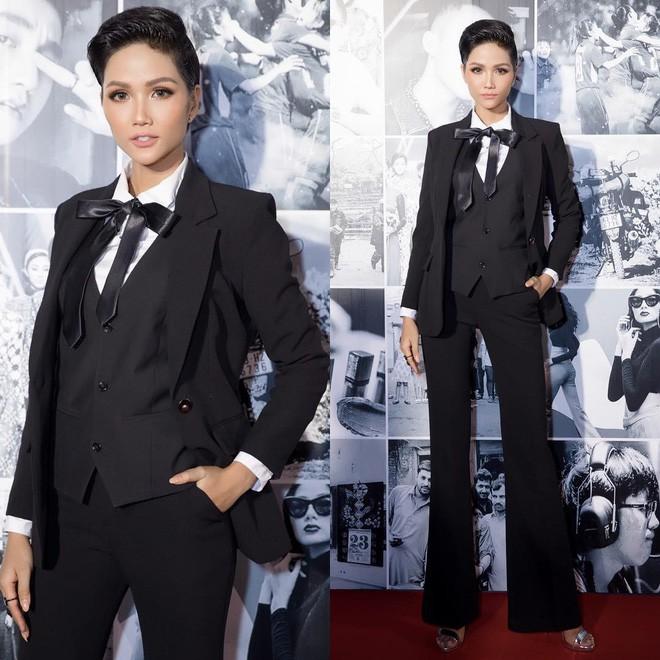 Từ sau khi đăng quang, Hoa hậu HHen Niê rất chăm chỉ thay đổi phong cách thời trang - Ảnh 4.