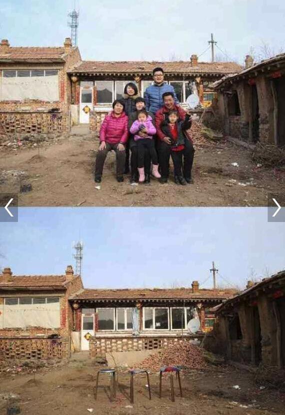 Xúc động với hình ảnh căn nhà trong và sau dịp nghỉ tết Nguyên Đán tại các vùng quê nghèo Trung Quốc - Ảnh 6.