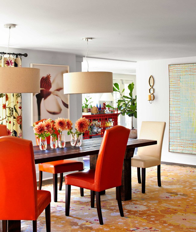 Ghé thăm ngôi nhà rực rỡ sắc màu của mùa Xuân - Ảnh 2.