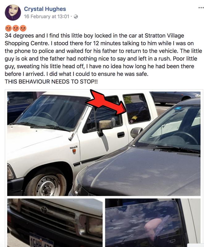 Phát hiện đứa bé ngồi trong xe hơi giữa trời nóng 34 độ, người phụ nữ này đã làm một việc khiến ai cũng bất ngờ - Ảnh 3.