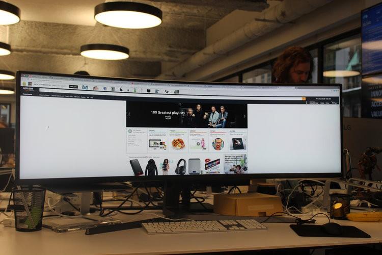 Màn hình cực dị dài bằng cả mặt bàn này sẽ hiển thị các trang web như thế nào? - Ảnh 6.