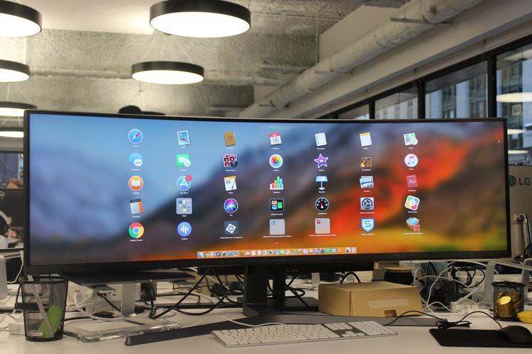 Màn hình cực dị dài bằng cả mặt bàn này sẽ hiển thị các trang web như thế nào? - Ảnh 7.