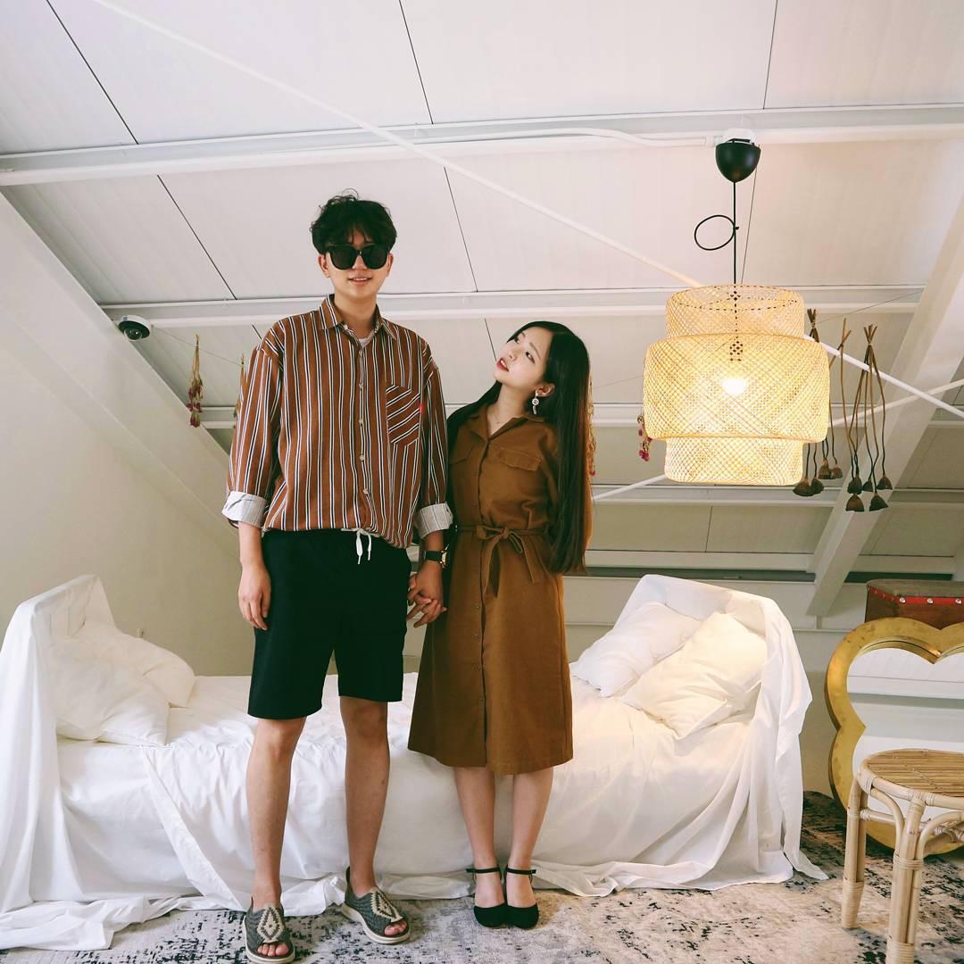 Cứ yêu nhau là phải mặc đồ đôi, nhưng mặc sao cho đẹp thì phải nhìn ngay 5 cặp đôi xứ Hàn này - Ảnh 10.