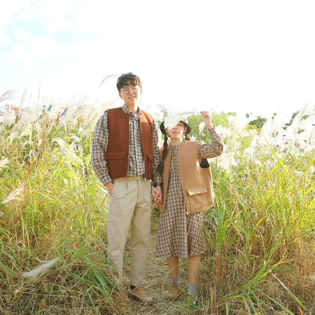 Cứ yêu nhau là phải mặc đồ đôi, nhưng mặc sao cho đẹp thì phải nhìn ngay 5 cặp đôi xứ Hàn này - Ảnh 12.