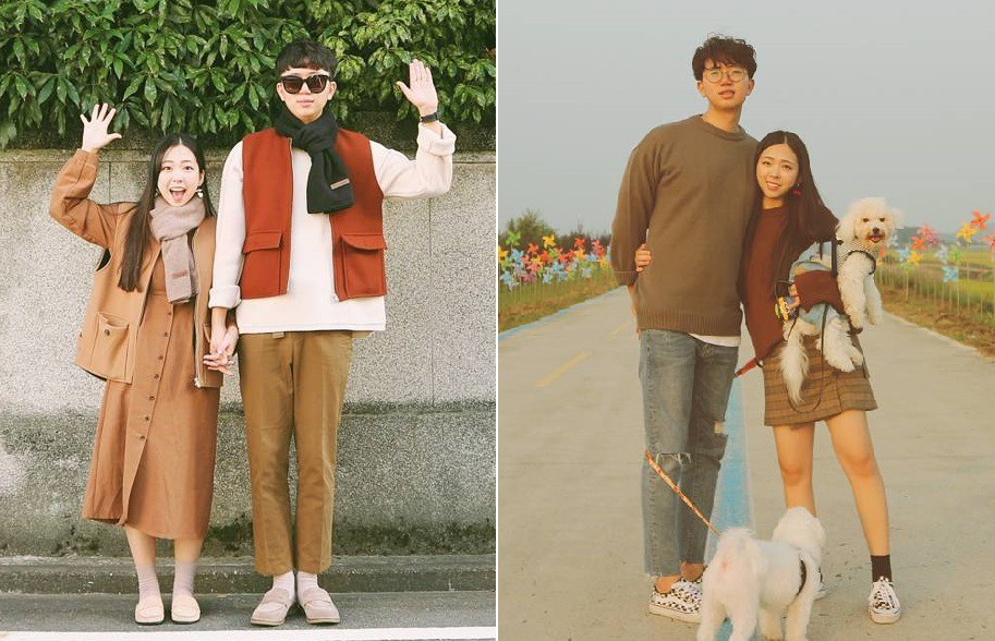Cứ yêu nhau là phải mặc đồ đôi, nhưng mặc sao cho đẹp thì phải nhìn ngay 5 cặp đôi xứ Hàn này - Ảnh 13.