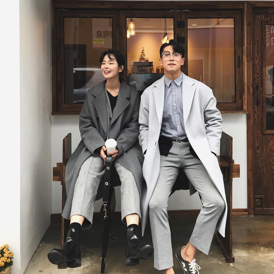 Cứ yêu nhau là phải mặc đồ đôi, nhưng mặc sao cho đẹp thì phải nhìn ngay 5 cặp đôi xứ Hàn này - Ảnh 19.