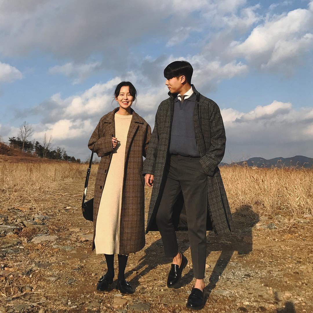 Cứ yêu nhau là phải mặc đồ đôi, nhưng mặc sao cho đẹp thì phải nhìn ngay 5 cặp đôi xứ Hàn này - Ảnh 21.