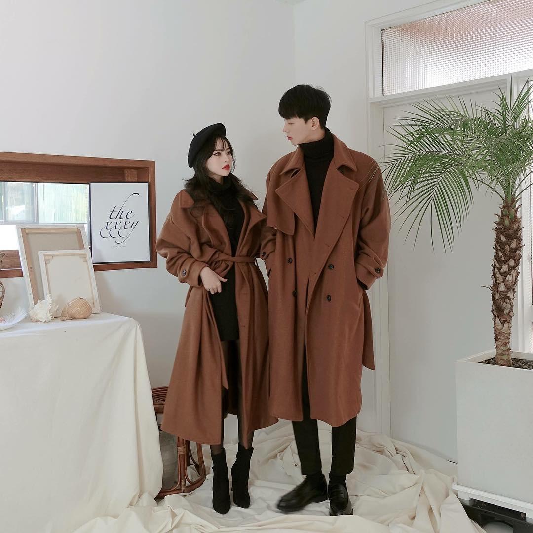 Cứ yêu nhau là phải mặc đồ đôi, nhưng mặc sao cho đẹp thì phải nhìn ngay 5 cặp đôi xứ Hàn này - Ảnh 7.