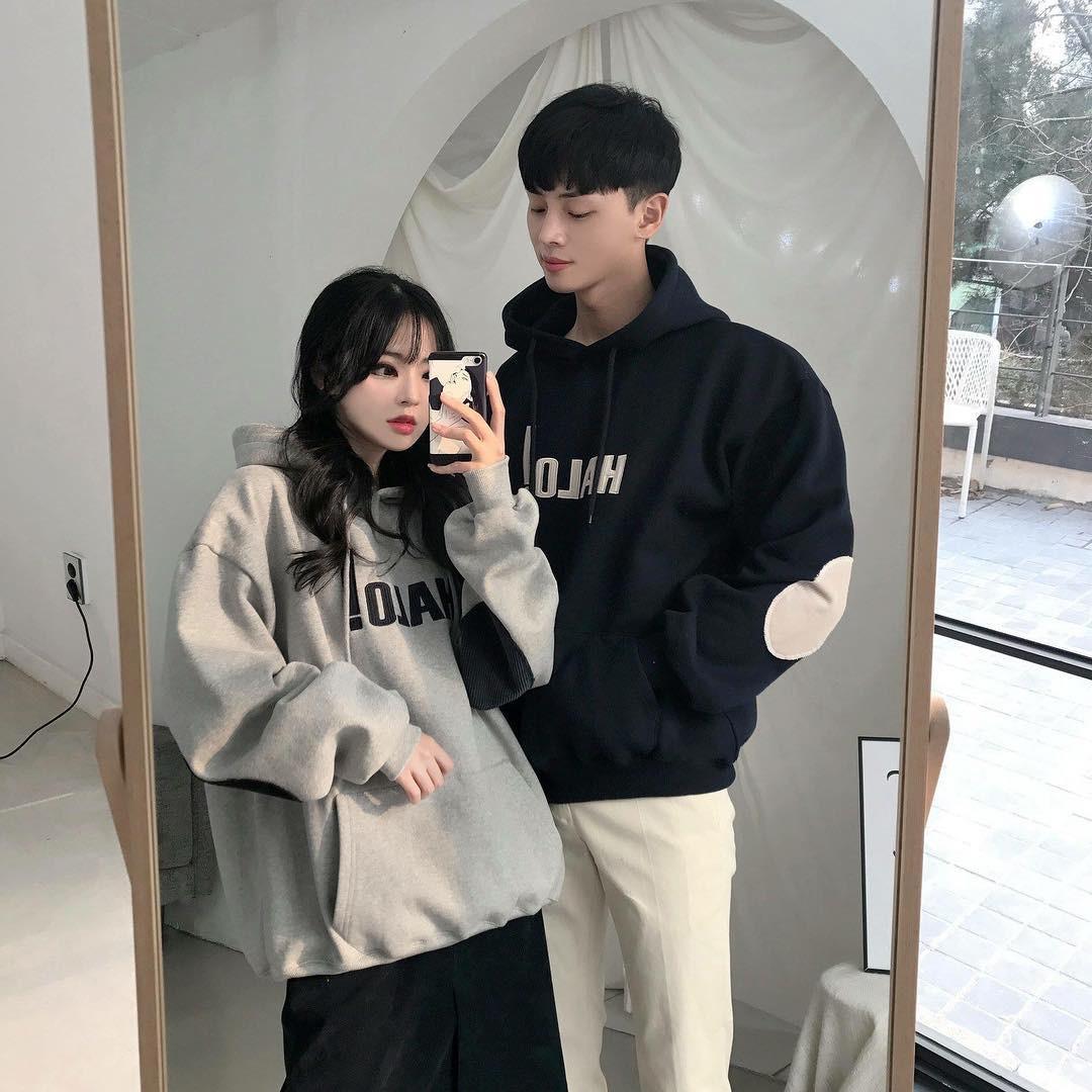 Cứ yêu nhau là phải mặc đồ đôi, nhưng mặc sao cho đẹp thì phải nhìn ngay 5 cặp đôi xứ Hàn này - Ảnh 6.