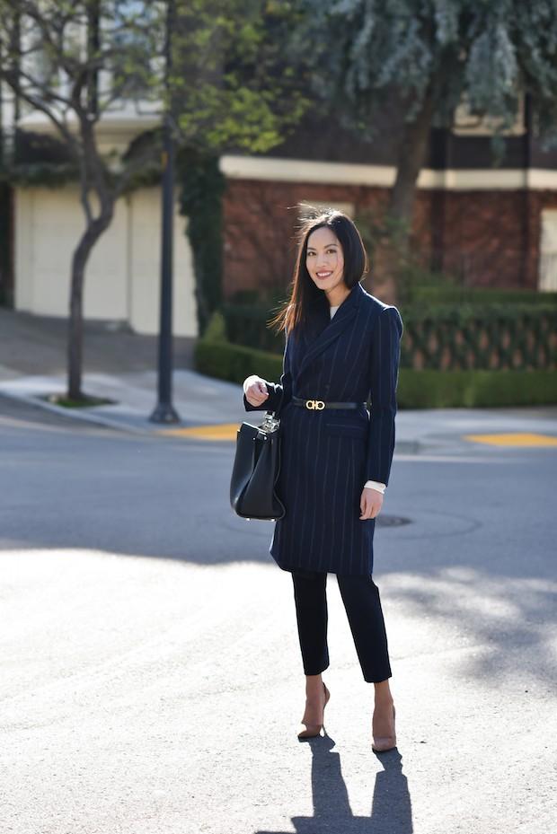 Tìm kiếm những gợi ý thú vị cho ngày đi làm đầu tiên của năm mới từ street style các quý cô châu Á - Ảnh 9.
