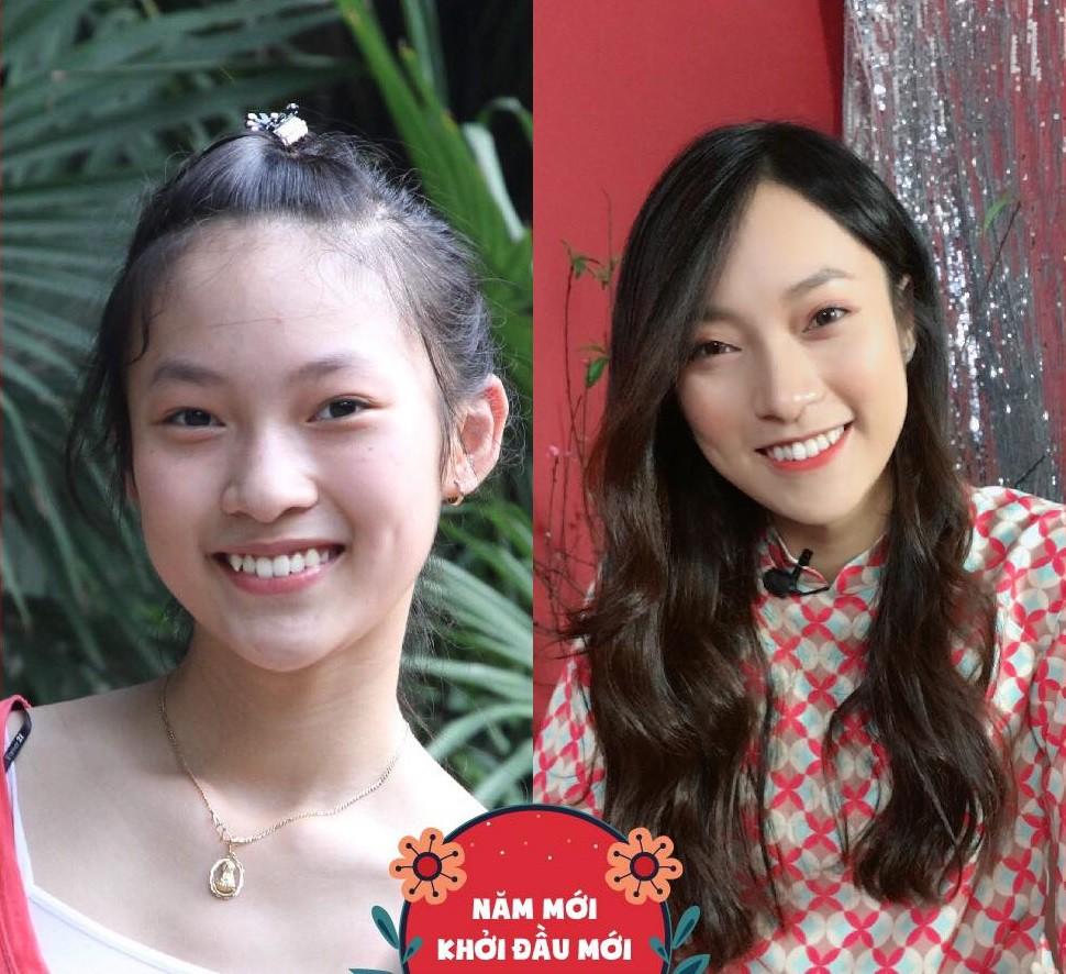 Hot girl Khánh Vy chứng minh chỉ cần thay đổi kiểu tóc phù hợp sẽ lột xác hoàn toàn
