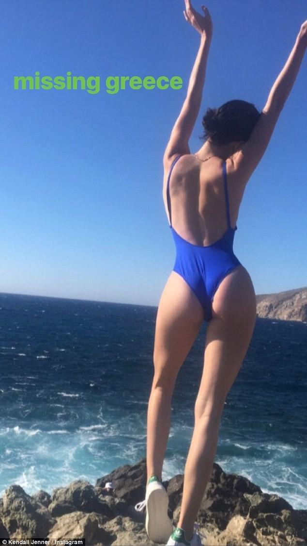Không quá khổ như Kim, nhưng vòng 3 của Kendall Jenner vẫn sexy đến khó cưỡng - Ảnh 1.