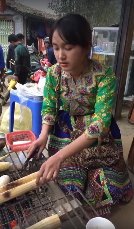Dân mạng rủ nhau lên Sapa tìm thiếu nữ bán cơm lam, trứng gà nướng xinh đẹp - Ảnh 4.