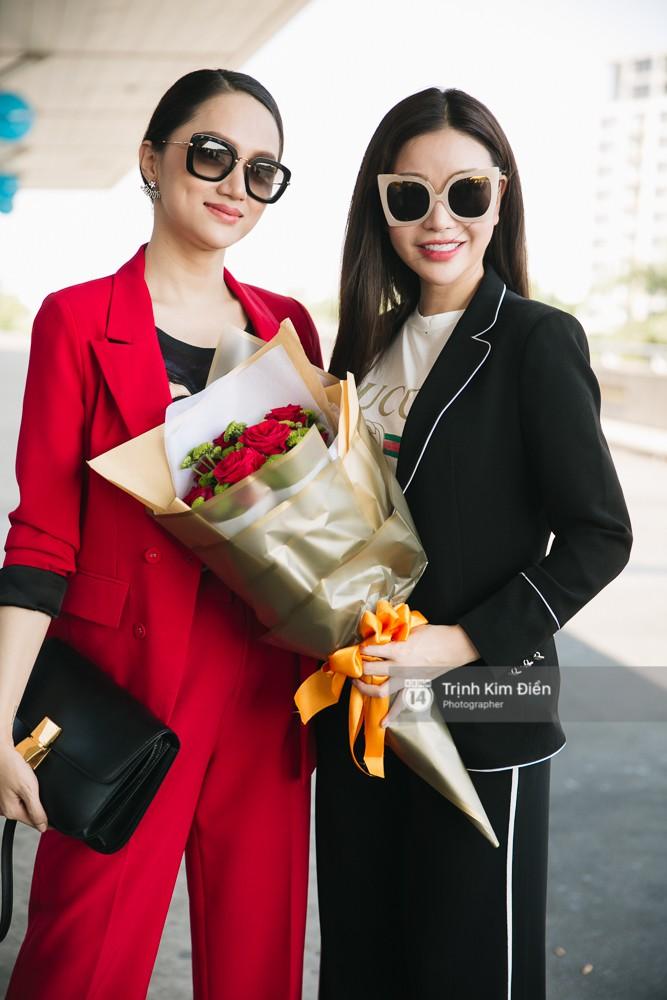 Hương Giang diện nguyên cây đồ đỏ rực, mang theo 105 kg trang phục đi chinh chiến Hoa hậu Chuyển giới Quốc tế - Ảnh 15.