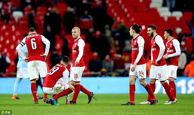 Báo Anh nhận định triều đại Wenger ở Arsenal sẽ chấm dứt vào cuối mùa này - Ảnh 2.
