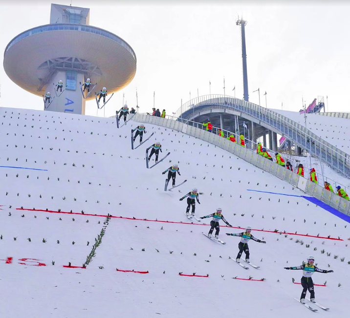Vì sao vận động viên trượt tuyết có thể bay xa và cao đến thế mà vẫn không hề hấn gì? - Ảnh 3.