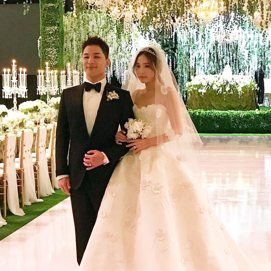 Tiệc cưới xa hoa của Taeyang: Cô dâu chú rể cuối cùng đã lộ diện, G-Dragon, T.O.P cùng dàn sao siêu sang đổ bộ - Ảnh 6.