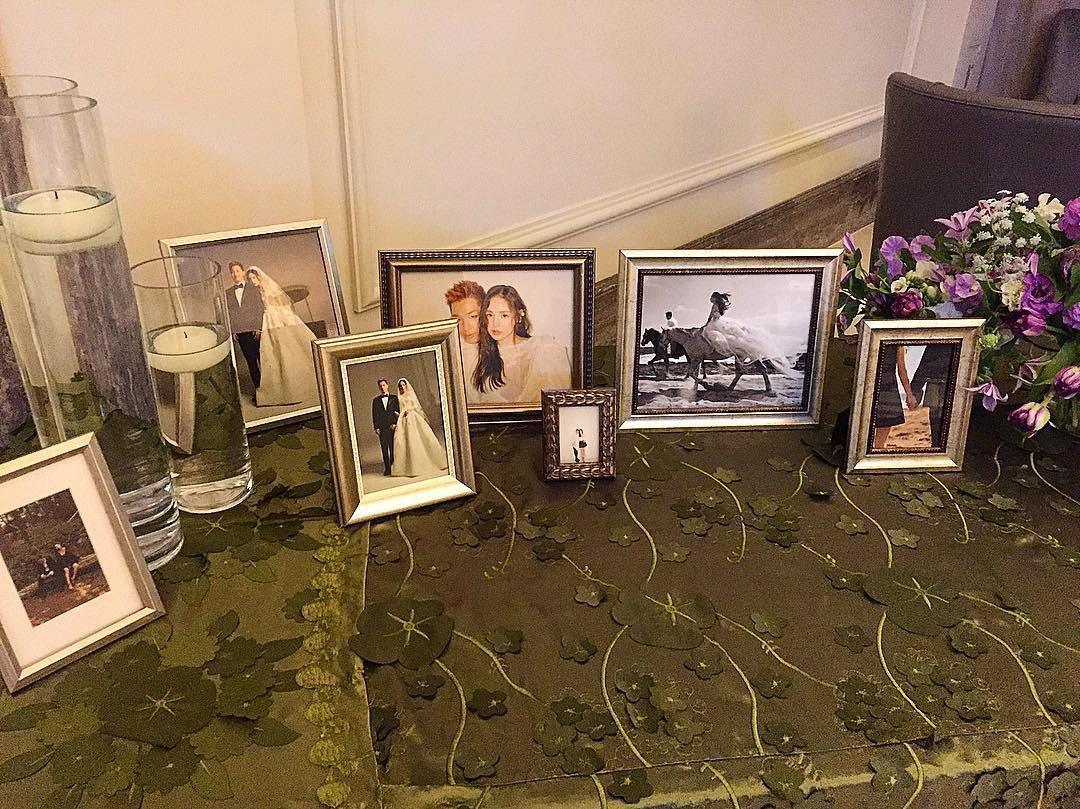 Tiệc cưới xa hoa của Taeyang: Cô dâu chú rể cuối cùng đã lộ diện, G-Dragon, T.O.P cùng dàn sao siêu sang đổ bộ - Ảnh 3.