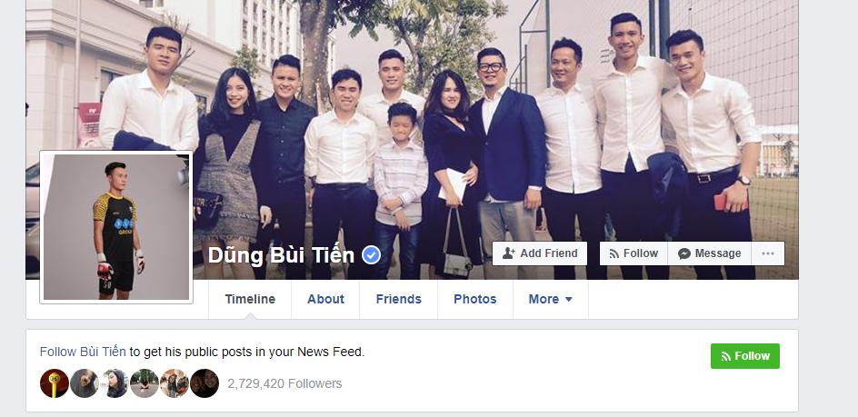 Instagram của các cầu thủ U23 Việt Nam tuy chưa có dấu xanh nhưng không thể làm giả - Ảnh 1.