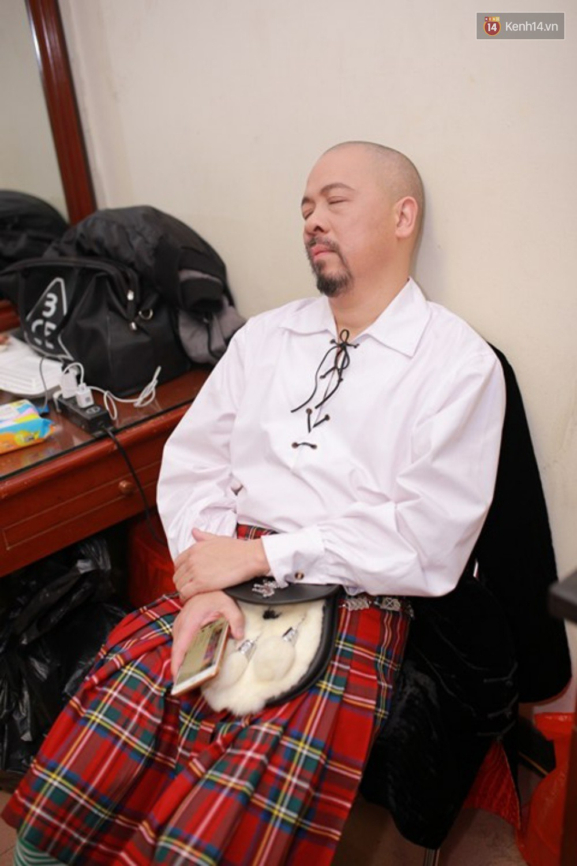 Ngày ghi hình thứ 2 của Táo Quân 2018: Dàn nghệ sĩ ngủ gật trong hậu trường - Ảnh 5.