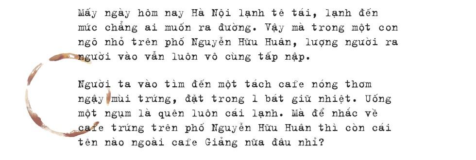 Đến Giảng không chỉ để uống một ly cafe trứng, mà còn để hưởng cái nhàn nhã rất Hà Nội của một quán xưa - Ảnh 1.