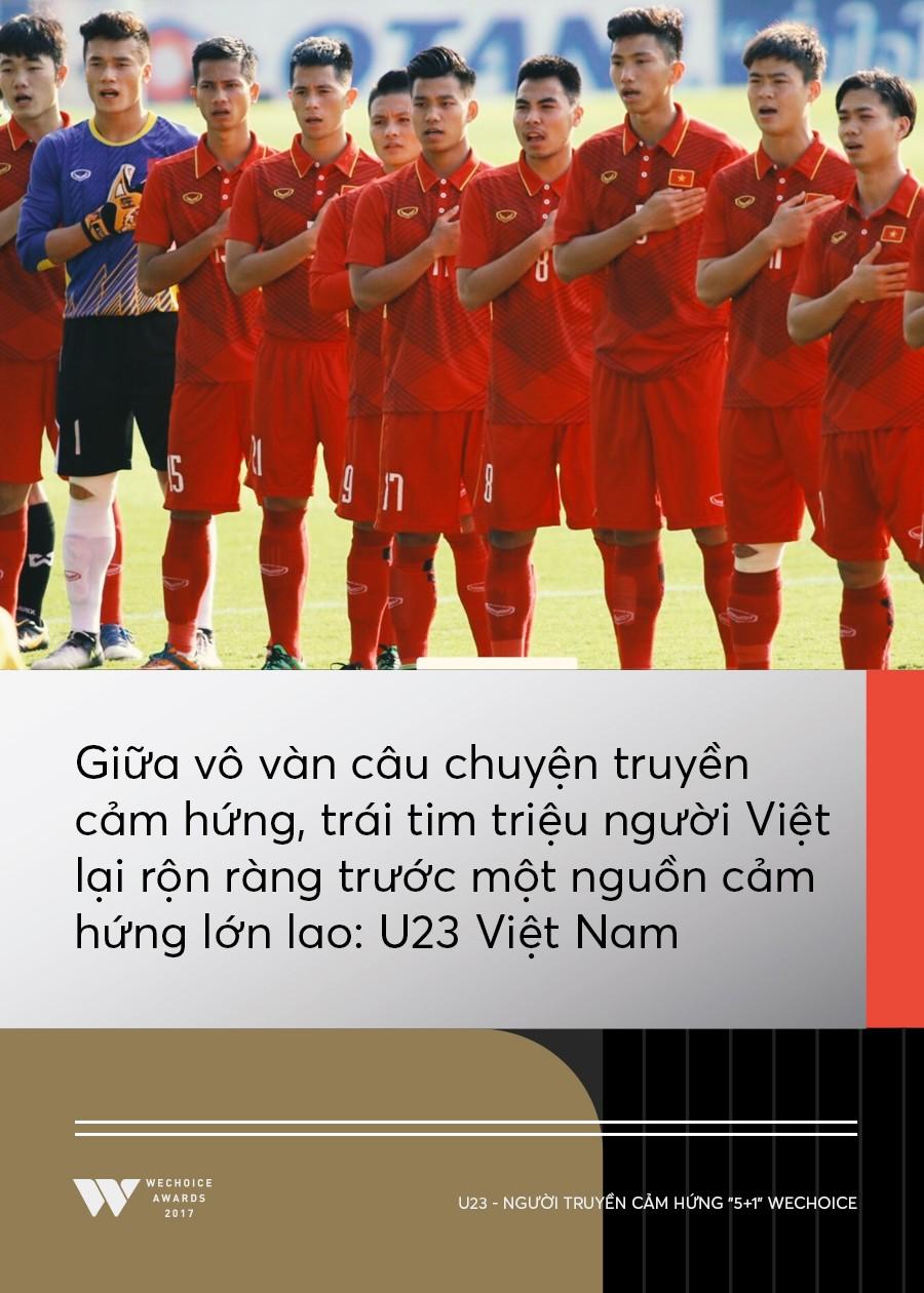Câu chuyện về người truyền cảm hứng 5+1: Khi hàng triệu trái tim cùng thổn thức vì U23 Việt Nam - Ảnh 2.