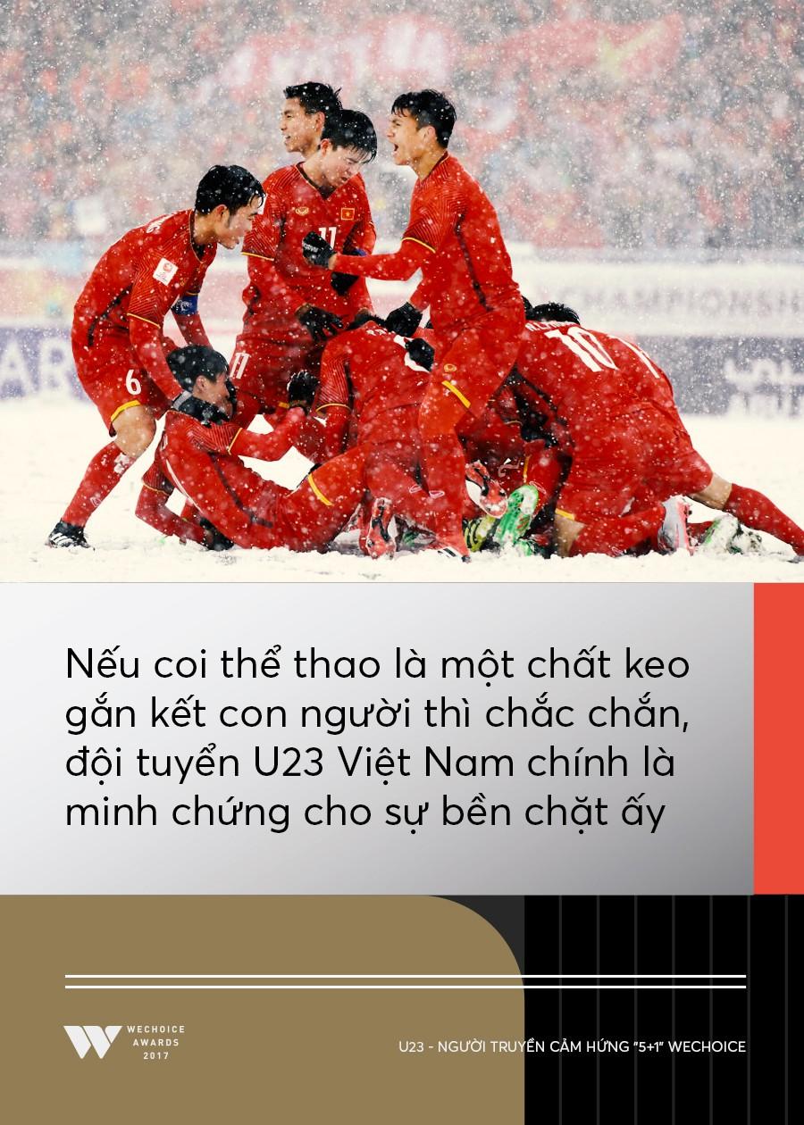 Câu chuyện về người truyền cảm hứng 5+1: Khi hàng triệu trái tim cùng thổn thức vì U23 Việt Nam - Ảnh 4.