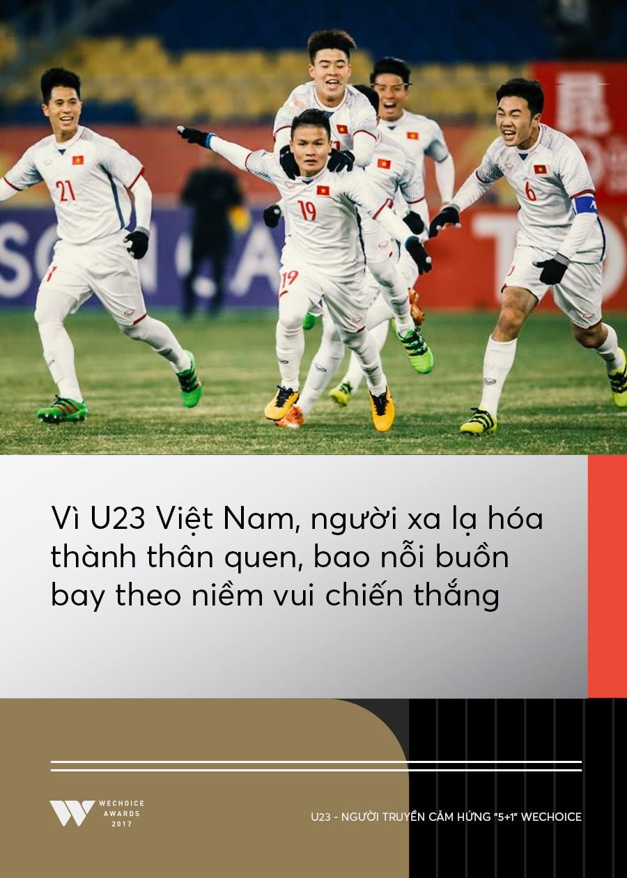 Câu chuyện về người truyền cảm hứng 5+1: Khi hàng triệu trái tim cùng thổn thức vì U23 Việt Nam - Ảnh 5.