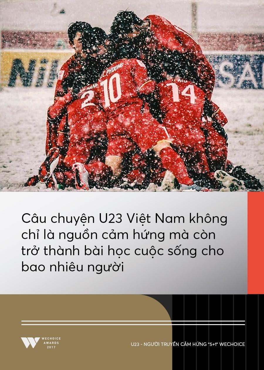 Câu chuyện về người truyền cảm hứng 5+1: Khi hàng triệu trái tim cùng thổn thức vì U23 Việt Nam - Ảnh 6.