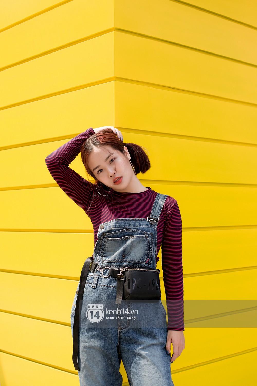 Street style 2 miền: các bạn trẻ nhất mực tôn sùng waist bag và side bag dù có lên đồ theo phong cách nào - Ảnh 12.
