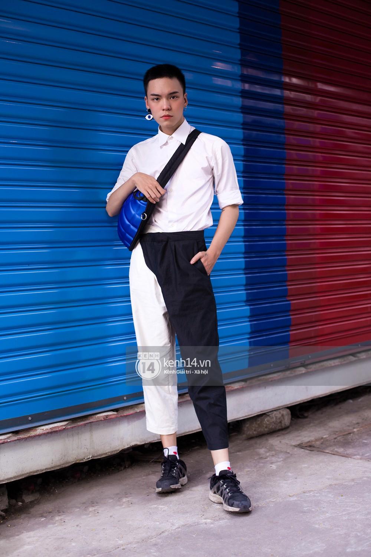 Street style 2 miền: các bạn trẻ nhất mực tôn sùng waist bag và side bag dù có lên đồ theo phong cách nào - Ảnh 17.