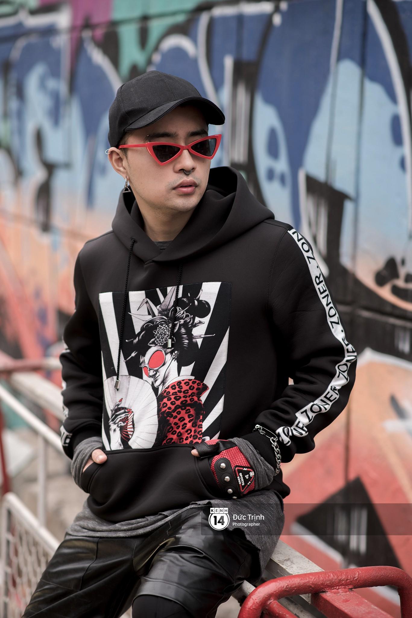 Street style 2 miền: các bạn trẻ nhất mực tôn sùng waist bag và side bag dù có lên đồ theo phong cách nào - Ảnh 10.