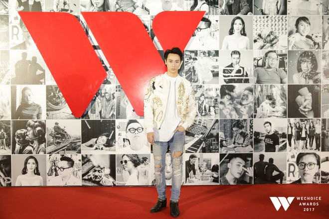 Không kém cạnh các người đẹp, dàn sao nam Việt tỏa sáng tại thảm đỏ Gala WeChoice Awards 2017