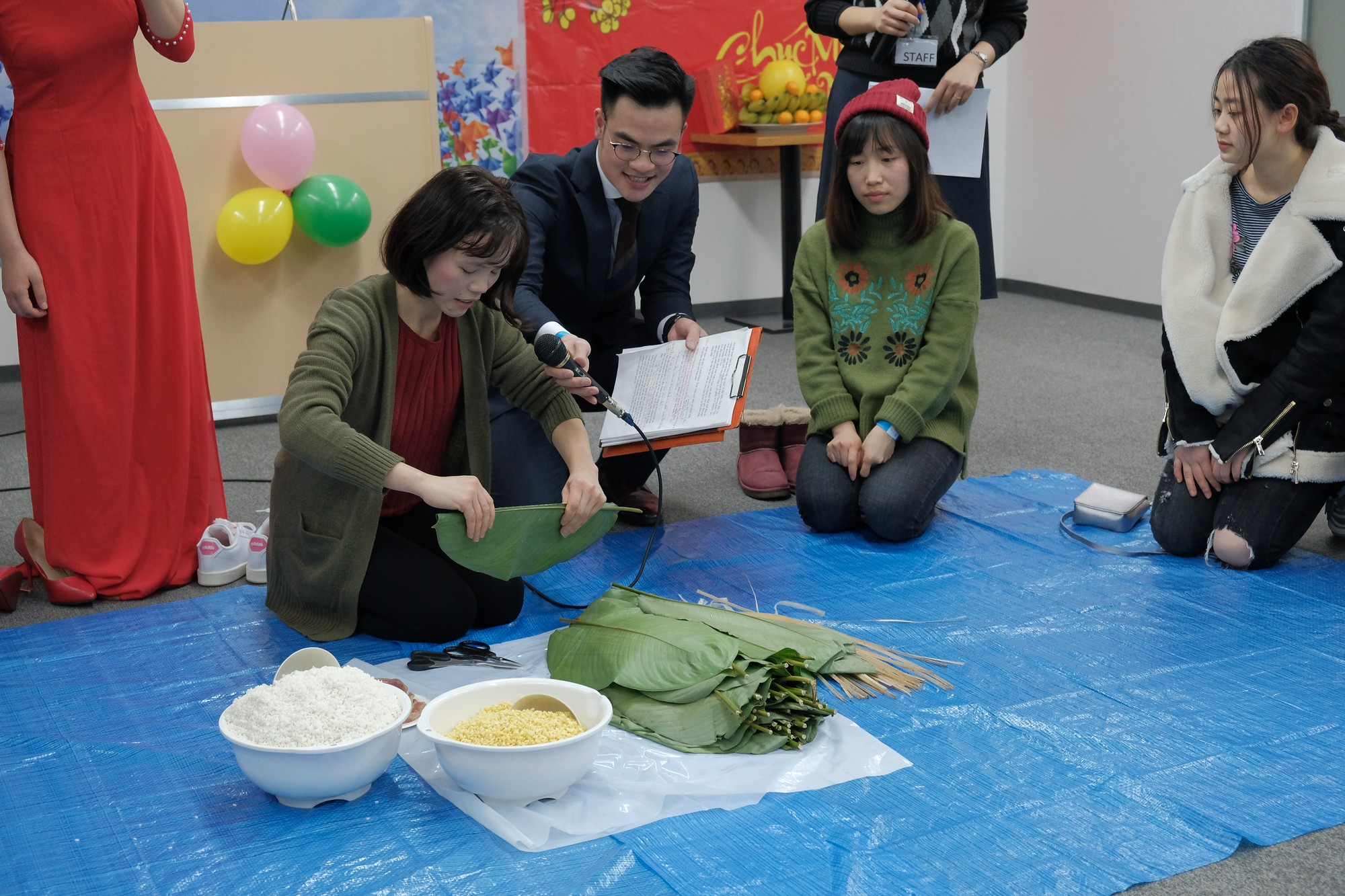 Ở nhà chưa thấy Tết đâu nhưng DHS Việt ở Nhật đã đón Tết rất hoành tráng rồi - Ảnh 5.