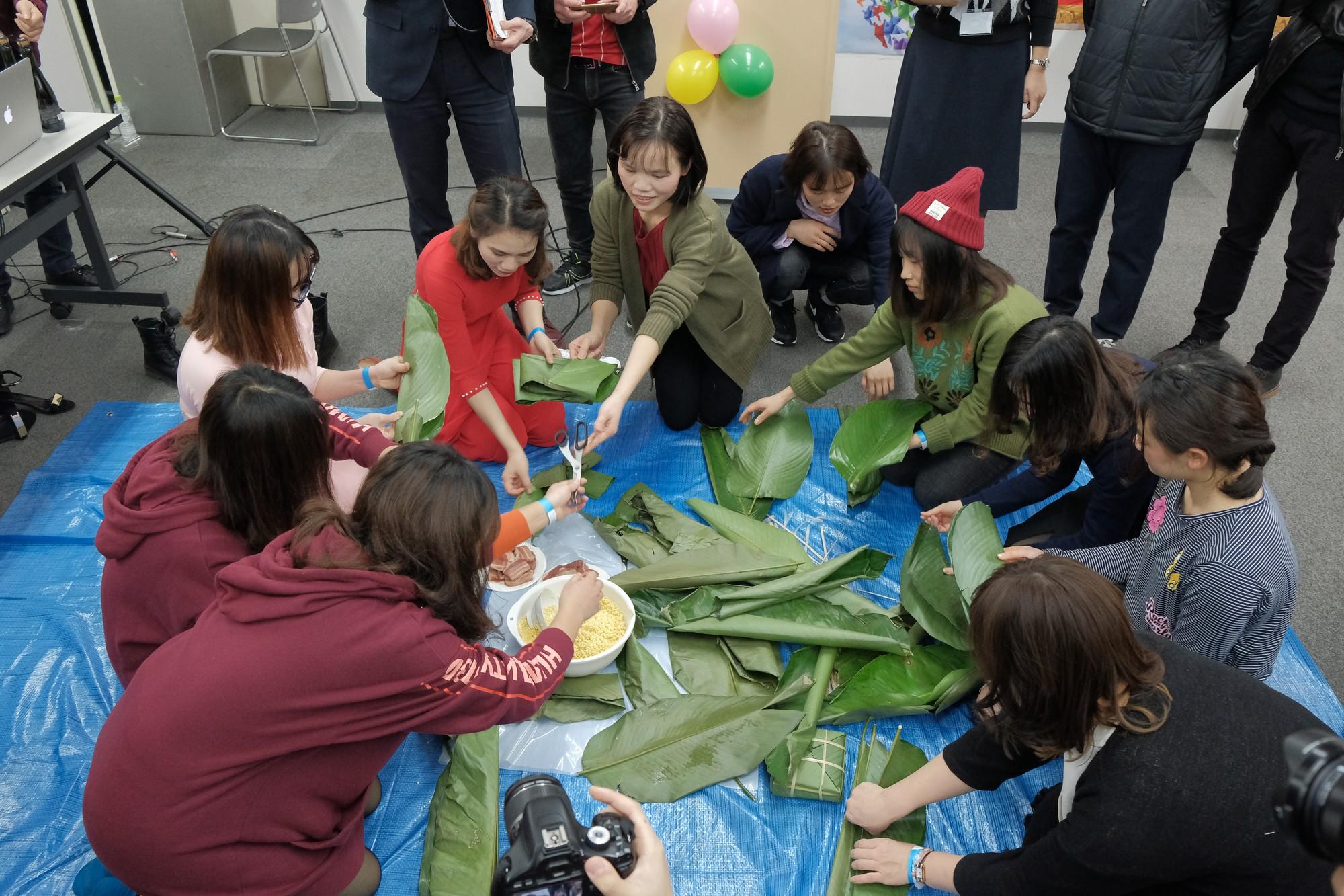 Ở nhà chưa thấy Tết đâu nhưng DHS Việt ở Nhật đã đón Tết rất hoành tráng rồi - Ảnh 6.