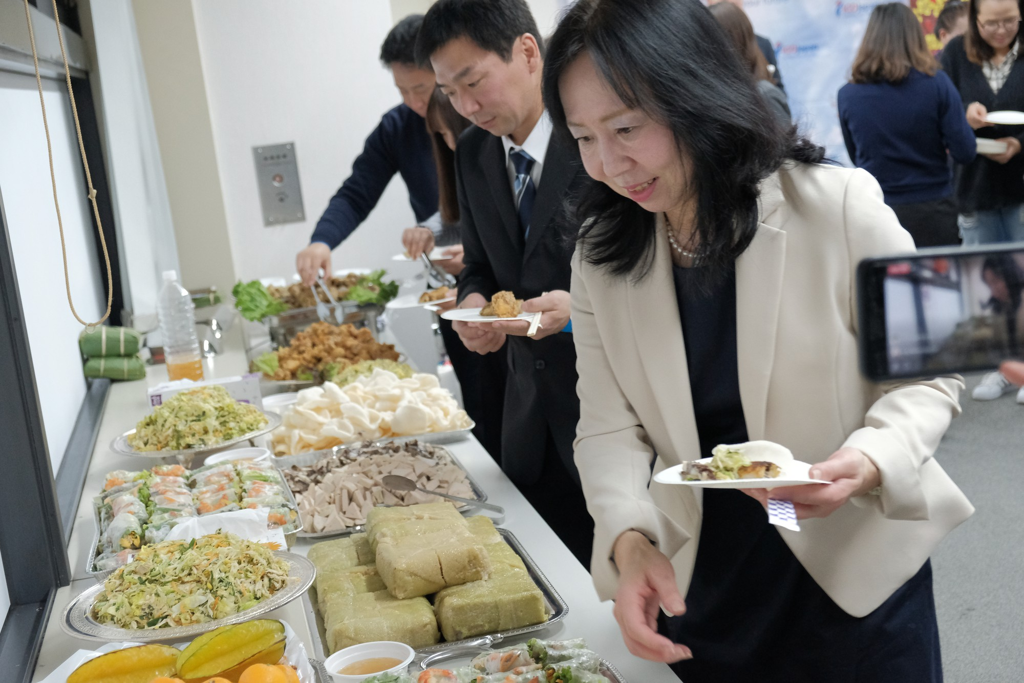 Ở nhà chưa thấy Tết đâu nhưng DHS Việt ở Nhật đã đón Tết rất hoành tráng rồi - Ảnh 7.
